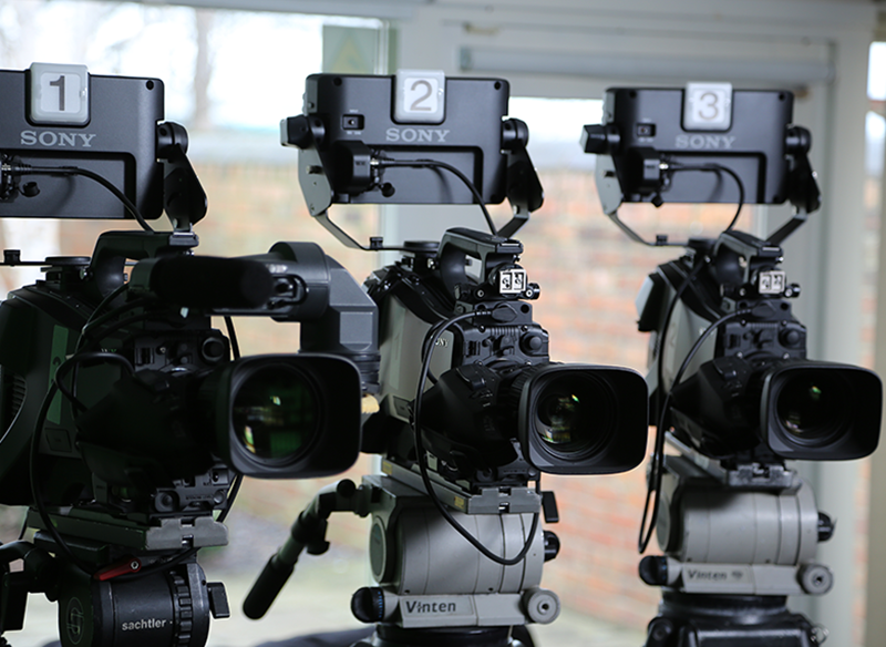 Multi-camera professional filming for business and entertainment